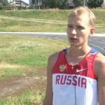 Белорецкий бегун Е. Николаев на Олимпиаде