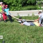 Детский сабантуй в башкирской гимназии