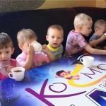 Дом ребенка в гостях у «Космоленда»