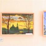 «Февральский вернисаж» агаповских художников