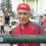 Городские соревнования по велоспорту