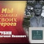 Губин Евгений Иванович — Герой Советского Союза