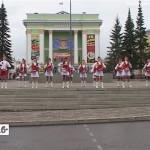 Концерт на площади «Металлургов»