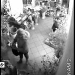 Кража в цветочном магазине