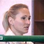 Лилия Шобухова в приюте для детей и подростков