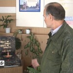 Макет Вечного Огня в школе №21