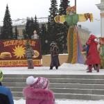 Масленица 2015. Центральная площадь г. Белорецка