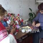 Мастер по изготовлению народной куклы из В. Авзяна