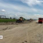 Начало второго этапа строительства объездной дороги