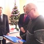 Награждение победителей конкурса в управлении пенсионного фонда