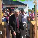 Открытие детской площадки в Буганаке