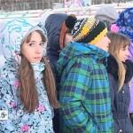 Открытие елки в Первомайском поселке и в Обществе слепых