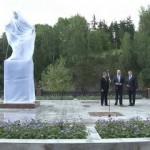 Открытие памятника И. Твердышеву