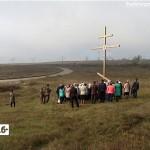 Открытие Поклонного Креста в селе Ломовка