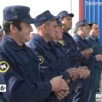 Открытие пожарного депо в Абзаково