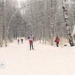 Первый этап Кубка РБ по лыжным гонкам