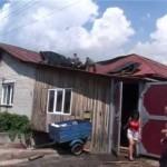 Пожар на ул. Кошевого.