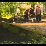 Праздник в Белорецком детском приюте, 2002 год