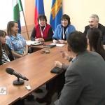 Пресс-конференция с участниками VI Зимних МДИ 2013