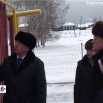 Приезд Рустэма Хамитова в Белорецкий район