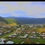 Рассветы над Кагой». Кага — старинное село Белоречья. 2001 год
