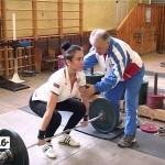 Сажида Махиянова - мастер спорта России по тяжелой атлетике