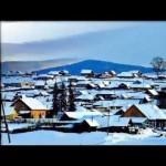 Село Узян. Зима