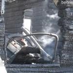 Сгорело здание администрации Азикеевского сельсовета
