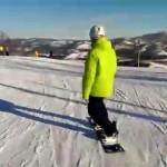 Snowboarding 2015 Абзаково