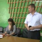 Собрание жильцов района общества слепых