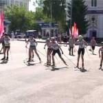 Соревнования на лыжероллерах