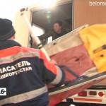 Спасатели несут службу на порогах реки Большой Инзер