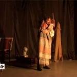 Спектакль Кизилского театра «Колесо»