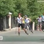 Спортивный праздник ко Дню России на площади «Металлургов»