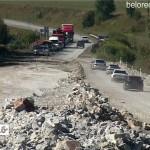 Строительство объездной дороги идет полным ходом