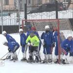 Товарищеская встреча по хоккею с мячом