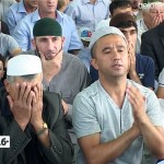 Ураза-байрам в мечети «Жамиг»