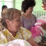 В Белорецком перинатальном центре родилась тройня.