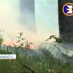 В Белорецком районе республики из за простой небрежности чуть не сгорела целая деревня