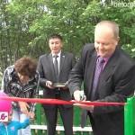 В с. Азикеево новая детская площадка