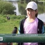 Юные натуралисты очистили Бельский родник