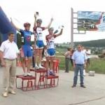 Завершающий этап Первенства России по велогонкам