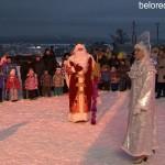 Открытие новогодней елки на Мраткино