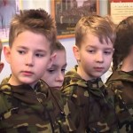 Юные кадеты на экскурсии в автошколе