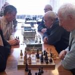 Играют ветераны. Шахматный турнир