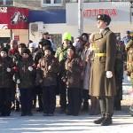 Митинг к 27-летию вывода советских войск из Афганистана