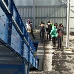 На полигоне ТБО установили мусоросортировочный комплекс