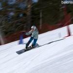 Тренировка Национальной сборной России по сноуборду на горе Мраткино