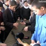 Военно-патриотическая акция в сельских школах