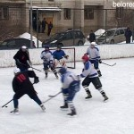 Финальные игры первенства Белоречья по хоккею